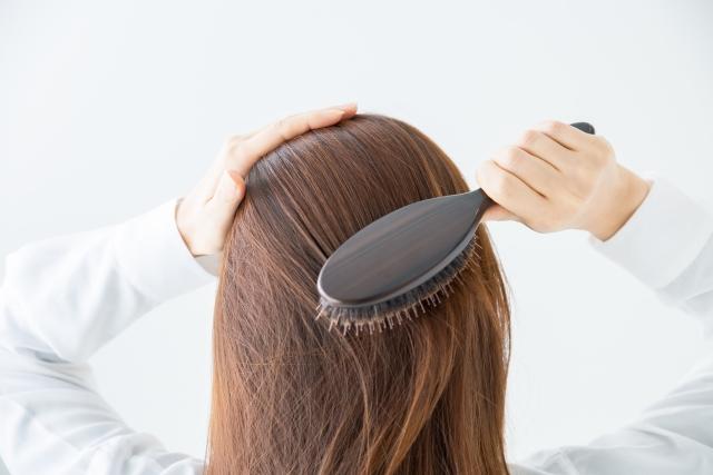 女性薄毛と静電気